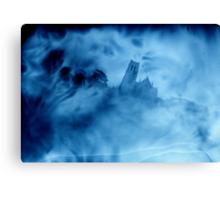 spooky church Canvas Print