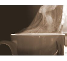 Steamy Photographic Print