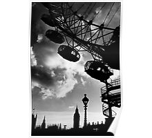 The Millennium Wheel, London, UK Poster