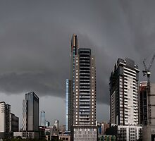 Storm Over the City by wolfcat