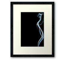 Is she really there? Framed Print