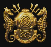 Deep Sea Diving Badge by Walter Colvin