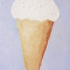 Ice Cream Cone - Second Oil Painting by Christopher Johnson
