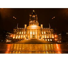 Bolton Town Hall Photographic Print