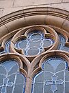 Lead Glass Church Window Detail by RatManDude