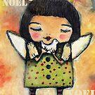 Noel Noel Xmas Angel by lynzart