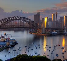 Sparkle - Sydney (Colour) - Moods Of A City - The HDR Experience by Philip Johnson