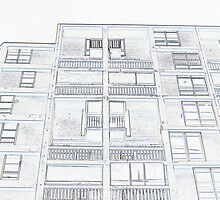Outline of Park hill flats by sidfletcher