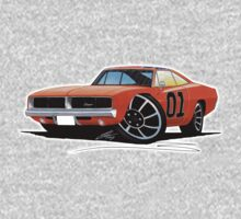 Dodge Charger - General Lee Kids Clothes