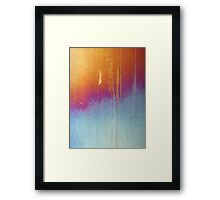 Fire and Water (Portrait) Framed Print