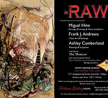 -RAW- Art Sensory Event by Miguel Hine