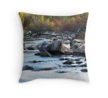 Milky Water Throw Pillow