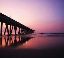 Sunrise - Wrightsville Beach by David Edwards
