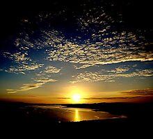 Sunset At Whiteness by Gary Buchan