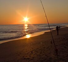 Fishing on the Atlantic by Alison Simpson