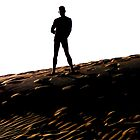 Man on the Dune by peterrobinsonjr