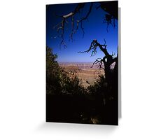 View From the North Rim, Grand Canyon, Arizona Greeting Card
