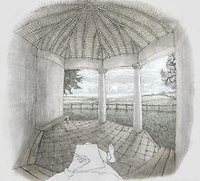 Cowpers Alcove, Weston Underwood, Buckinghamshire by Simon Yeomans