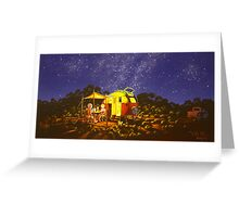 life's little comforts. Greeting Card