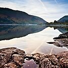 Autumnal Reflections - Thirlmere by David Lewins LRPS