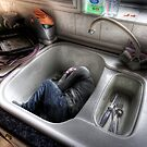 The Kitchen Sink Bath by craig sparks
