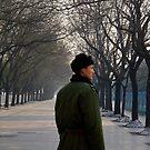 China Guard at Tianamen by eyesoftheeast