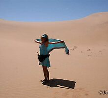 Carla on the Dune! by kimwild