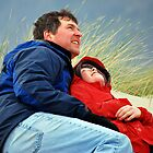 Father and son by Jodi Morgan
