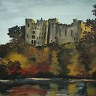 Ludlow castle in England by Kamila  Krizova/Aitchison