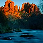 Sedona Sunset by Patrick O'Neill