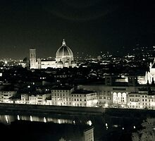 Florence in the dark! by Gursimran Sibia
