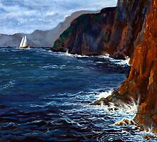 Lonely Schooner by Mary Palmer