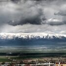 Panorama of mountains around Erzurum by Erdj