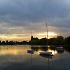 Danson Park SE London @ Dusk  by Terry Senior