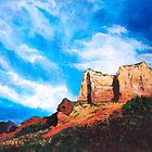 Sedona Mountains by Mary Palmer