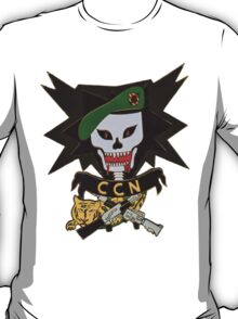 Macv sog comand control north patch (ccn) T-Shirt