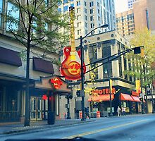 hard rock in Atlanta by Tracey Hampton