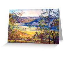Towards Broadford Greeting Card