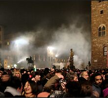 New Year, Piazza della Signoria, Florence 2005 by Andrew Jones