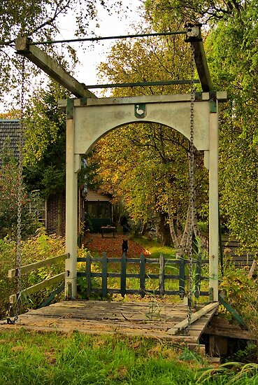 Wooden drawbridge 'The goose'  by steppeland