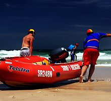 Surf rescue by heathera