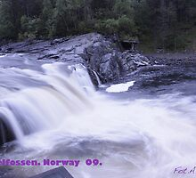 Waterfall . Trondelag . Norway . by Brown Sugar with WOOOOOws !!! thanks !!!  View (248) favorited by (1) thx ! OK! by AndGoszcz