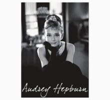 Audrey Hepburn (signed) by tigerwolf09