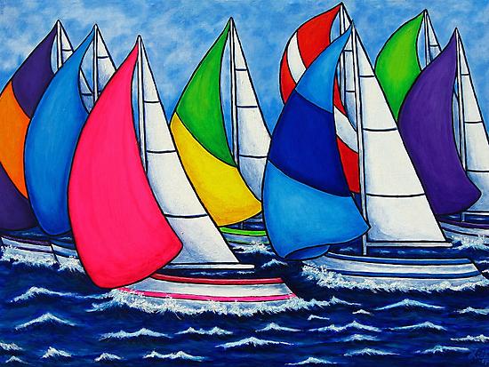 Colourful Regatta by LisaLorenz