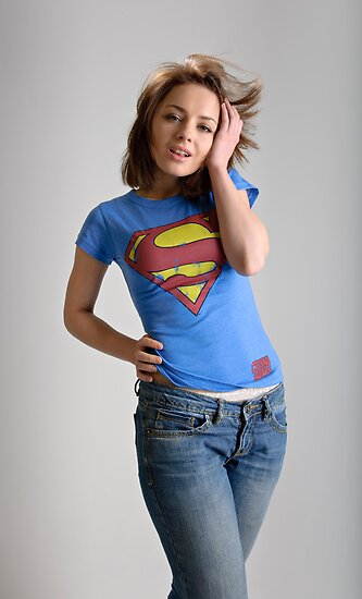 Super Woman! by Andrew Jones