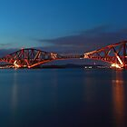 Forth rail bridge by Photo Scotland