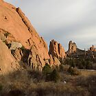 Garden of the Gods - Colorado by Joy King