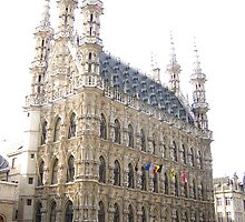 Town Hall of Leuven (Belgium) by artsandherbs