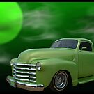 """Lime Aide"" 1949 Custom Chevrolet Pickup Truck by TeeMack"