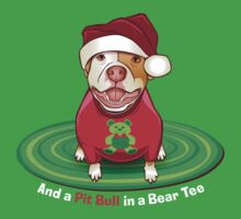 And a Pit Bull in a Bear Tee by Linda Hardt